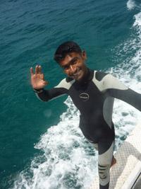 潛水長的一天